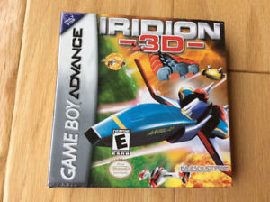 """""""Iridion 3D"""" (Nintendo GBA) complete & mint cond. (Only $15)"""