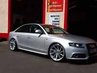 B8 and b9 Audi A4 sline kit for se modle also spoilers fit sline model to