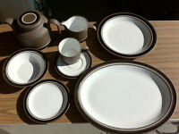 A Hornsea six place table setting