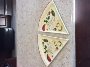 New and never used Pizza Plates $5 for both