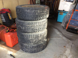 205/60/R15 Snow Tires + rims for sale