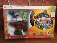 Skylanders Giants ... STARTER PACK with game Xbox 360