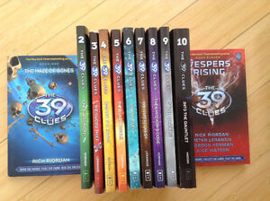 39 Clues: books 2 3 4 5 6 7 8 9 10 paperback, 1,11 $7 hardcover