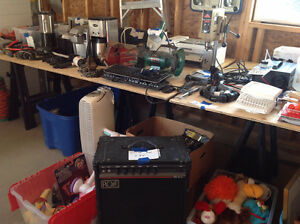 Garage SALE! Moved and have lots to sell! Tools, Furniture...etc