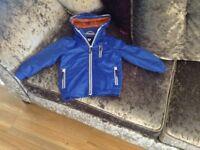 Boys blue coat size 3-4