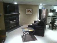 Basement suite bright and spacious fully furnished. January 1st