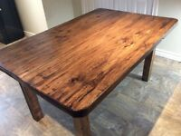BEAUTIFUL BRAND NEW HAND MADE RUSTIC SOLID PINE HARVEST TABLES