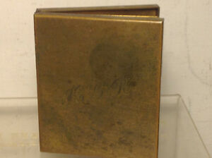 Antique Folding Picture Frame Book