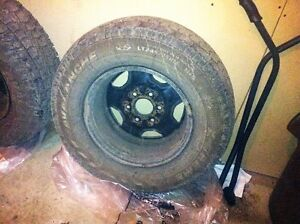 tires and rims 16 inch and 1 17 inch tire Strathcona County Edmonton Area image 1