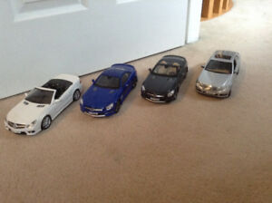 1/18 diecast cars Mercedes  Benz collection