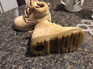 New 100% Leather Boots, size 2, Miniwear brand Peterborough Peterborough Area image 2