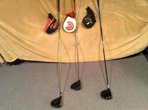 Golf drivers, great condition