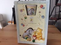 Winnie the Pooh gift set by Royal Doulton