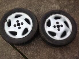 Fiat punto wheels