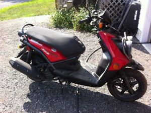 2013 Yamaha 125 cc Scooter for sale