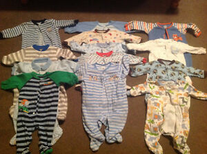 Baby boy size 6 months sleepers
