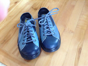 Dr. Martens Blue Leather Clogs New Without Box St. John's Newfoundland image 1