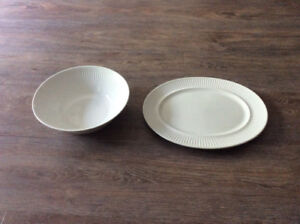 JOHNSON BROTHERS ATHENA WHITE SERVING DISHES