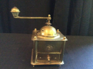 TURKISH HANDMADE COFFEE GRINDER , AND PEPPER MILL