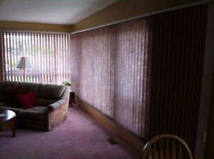 Set of two Vertical Blinds
