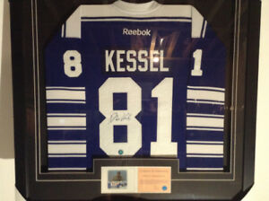 Phil Kessel signed and framed NHL Jersey