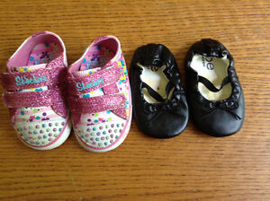 Girl shoes - Size 3&4 toddler
