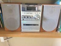 Sony CD player HiFi sound system