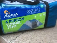 Brand new never used 4 man tent