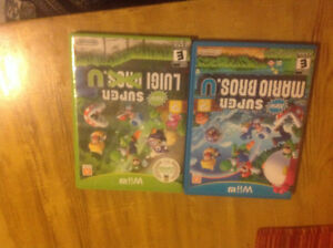 new super mario bros wii u and new super luigi u