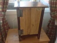 Shabby Chic Industrial Style Recycled Cupboard