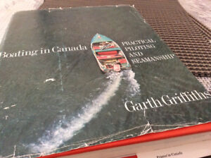 VINTAGE Boating in Canada- PRACTICAL PILOTING & SEAMANSHIP