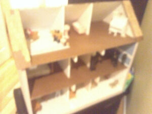 beautiful hand-made doll house ath furniture North Shore Greater Vancouver Area image 2