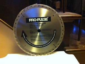 "Brand New Pro-Pulse Carbide Saw Blade 10"", 40 D/T"