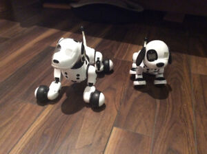 Zoomer Remote Control Dogs - chien zoomer