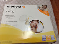 Hardly used electric medela breast pump!