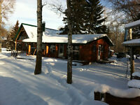 REDUCED 20,000 LAKEFRONT CABIN FOR SALE