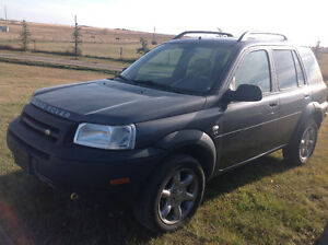 2002 Land Rover Freelander Slt SUV trade for pickup half tone