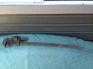 """36"""" Pipe Wrench"""