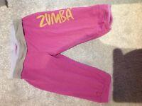 Zumba cropped pants medium