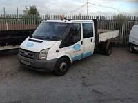 Ford Transit 2.4TDCi double cab tipper 2007 very rough..... No offers .plus vat