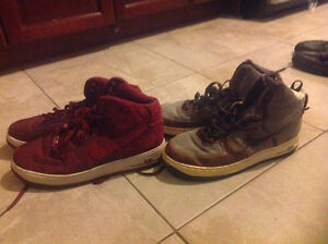 Collection of men's size 12 name brand footwear