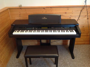 Yamaha Clavinova CVP 69 in mint condition (+ bench)