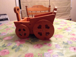 WAGON  GARDEN PLANTER