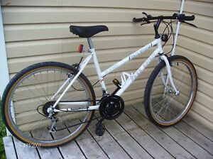 lady's 26 inches wheel 18 speeds bicycle  $75.00
