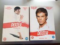 DEXTER SEASON ONE AND SEASON TWO DVD BOX SET PRE-OWNED