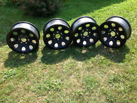 Rims and tires, 265 70 R17