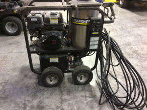 Karcher HDS hot water power washer