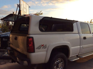 Chev 2500 duramax canopy. Trade for tunnel cover
