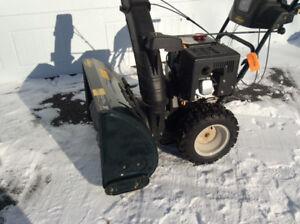 Souffleur à neige 30 pouces