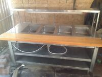 $500 Steam Table - good for food businesses and catering!